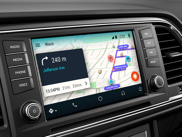 Waze su Android Auto