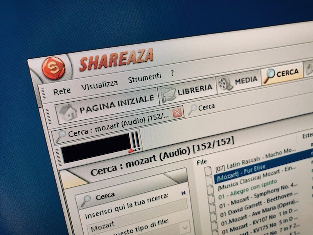 Shareaza: scaricare e configurare Shareaza in Italiano