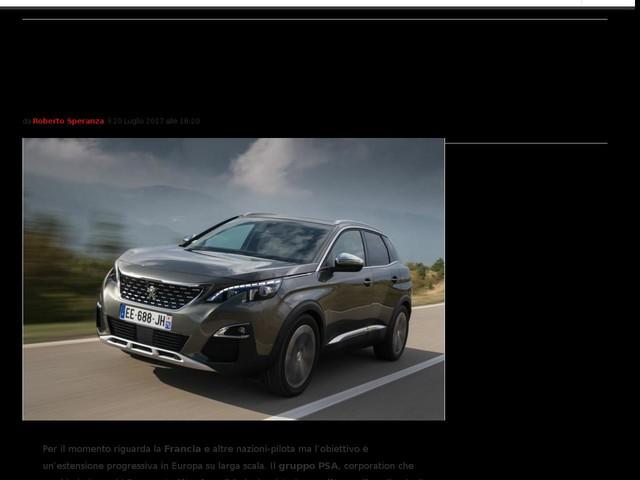 Gruppo PSA vendite on line: in Francia Peugeot, Citroën e DS si compreranno sul web