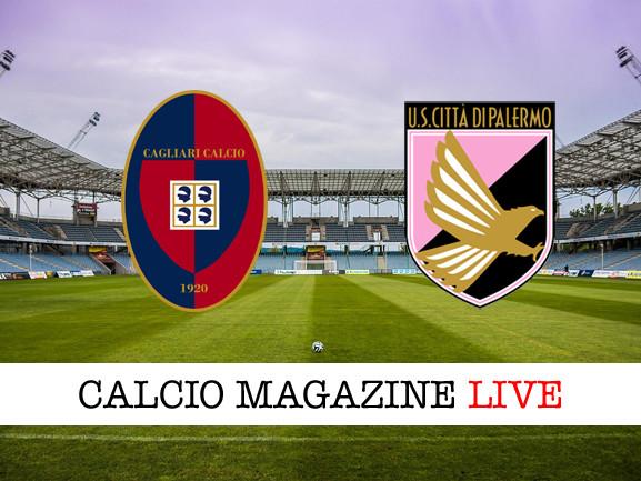 Cagliari-Palermo: risultato in diretta, tabellino in tempo reale