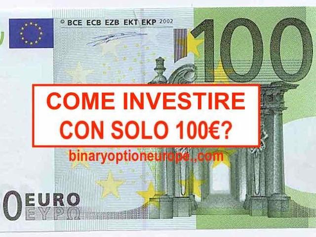 Come fare trading con 100 euro: 5 semplici passi in Forex CFD Criptovalute