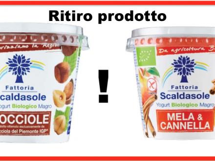 Yogurt Scaldasole: Carrefour richiama 4 lotti per possibile contaminazione da glutine non dichiarata in etichetta. Problemi per allergici