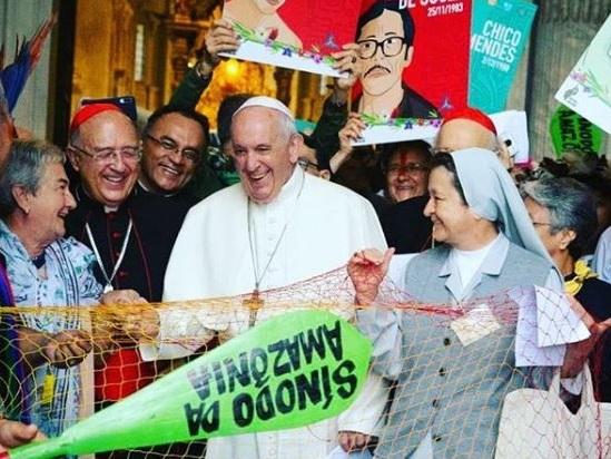 Sinodo per l'Amazzonia. Il discorso di apertura di Papa Francesco