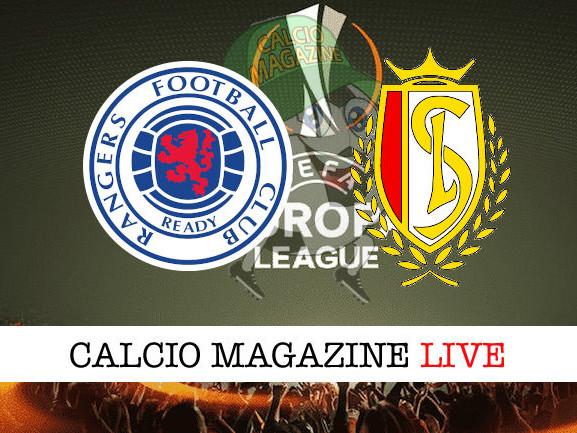 Rangers – Standard Liegi: diretta live, risultato in tempo reale