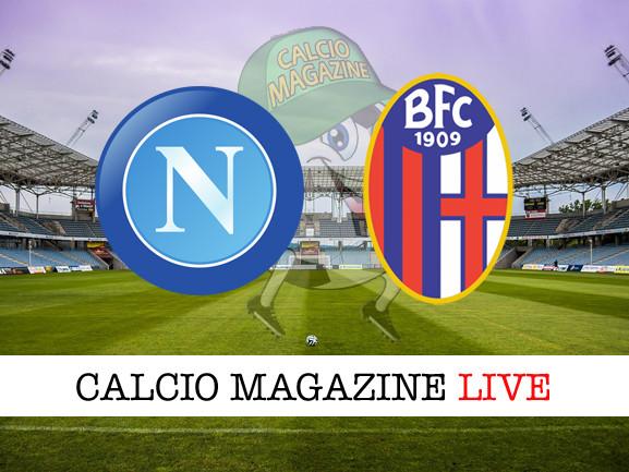 Napoli – Bologna: cronaca diretta live, risultato in tempo reale
