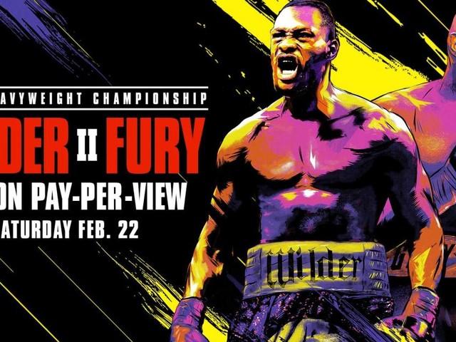 Boxe: a Las Vegas Wilder vs Fury II, domenica 23 febbraio in tv su DAZN
