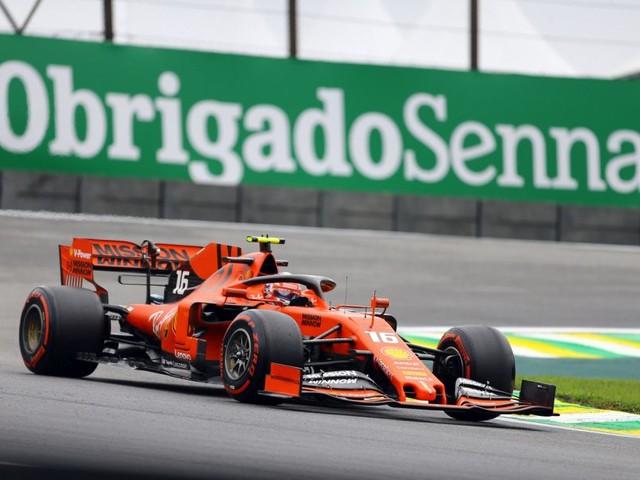 VIDEO F1, la grande rimonta di Charles Leclerc a Interlagos