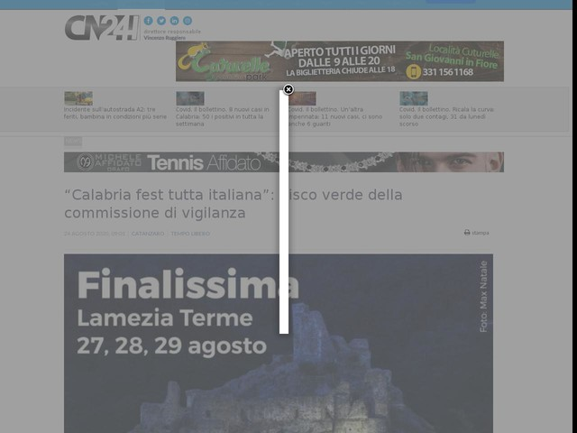 """""""Calabria fest tutta italiana"""": disco verde della commissione di vigilanza"""