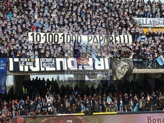 """Gabriele Paparelli: """"Una grandissima gioia lo stesso. Grazie Curva Nord"""" (FOTO)"""