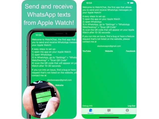 Giveaway Of The Week: 3 copie gratuite per WatchChat 2: for WhatsApp [Apple Watch]