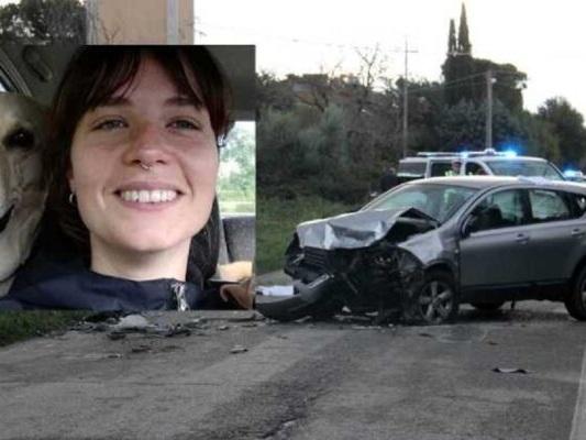 Ristradella, ragazza di 29 anni perde la vita con il suo cane in un incidente in auto