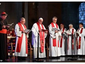 Papa: abbandonati pregiudizi su Lutero, cattolici e luterani mai più avversari