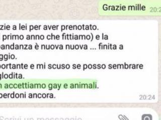 Niente gay a Ricadi, il titolare della casa vacanze  minacciato tramite la chat di Facebook
