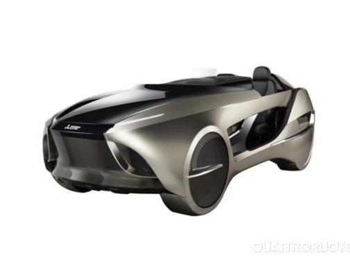 Mitsubishi - La Emirai 4 è pronta per il debutto al Salone di Tokyo