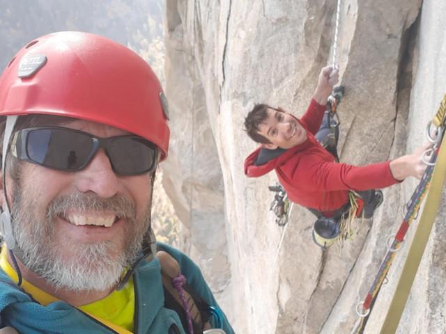 Pete Zabrok incontra Honnold su El Cap, al lavoro su un nuovo progetto