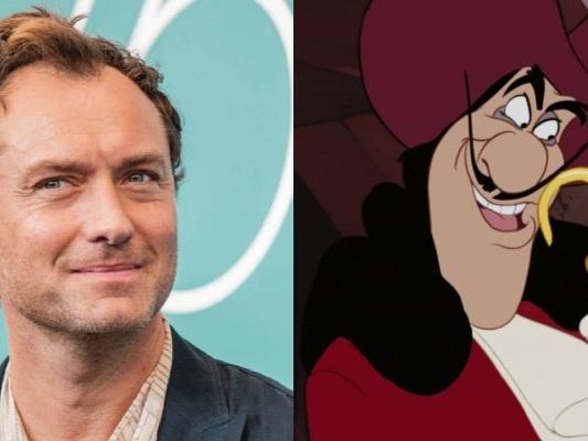 Peter Pan & Wendy – Jude Law è Uncino nella prima foto dal set
