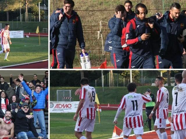 La Maceratese vince il derby: Castellano fa impazzire l'Helvia Recina (FOTO)