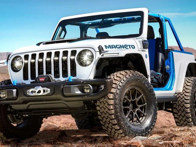 """Jeep """"Ci sono così tante cose che possiamo fare con l'elettrificazione"""""""