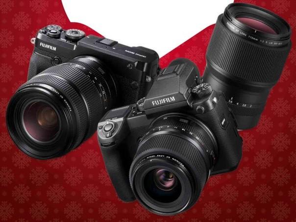Fujifilm: sconti e rimborsi sulle medio formato GFX e sui prodotti Serie X