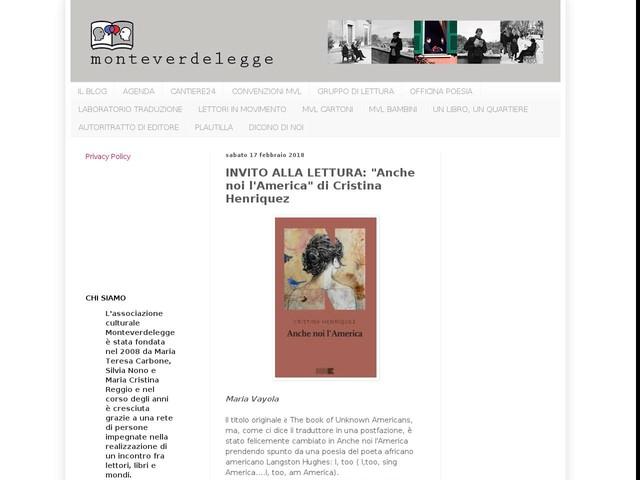 """INVITO ALLA LETTURA: """"Anche noi l'America"""" di Cristina Henriquez"""