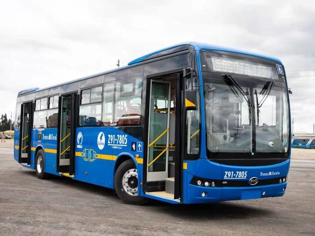 Grande ordine a BYD per 406 autobus elettrici in Colombia