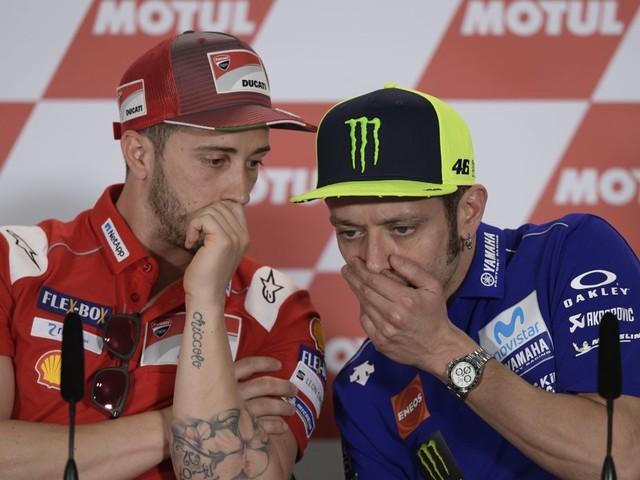 """Dovizioso: """"Avrei voluto un rapporto con Rossi, ma non è successo"""""""