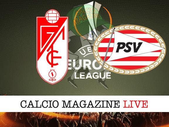 Granada – PSV Eindhoven: diretta live, risultato in tempo reale