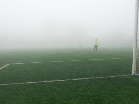 Tolfa-Csl Soccer sospesa sul 2-0 al 65' per nebbia
