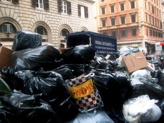 Roma per ora non avrà nuove discariche dove conferire i rifiuti