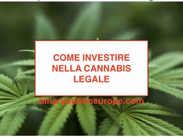 Come investire nella Cannabis light legale 2020: azioni canapa in Italia