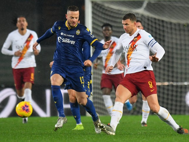 La Roma vince 3-1 a Verona: giallorossi quarti in classifica