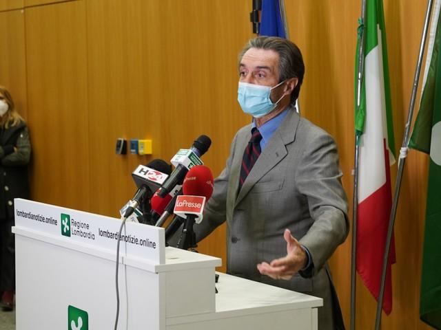 """""""Lombardia zona rossa fino al 3 dicembre"""": il governo fa infuriare Fontana"""