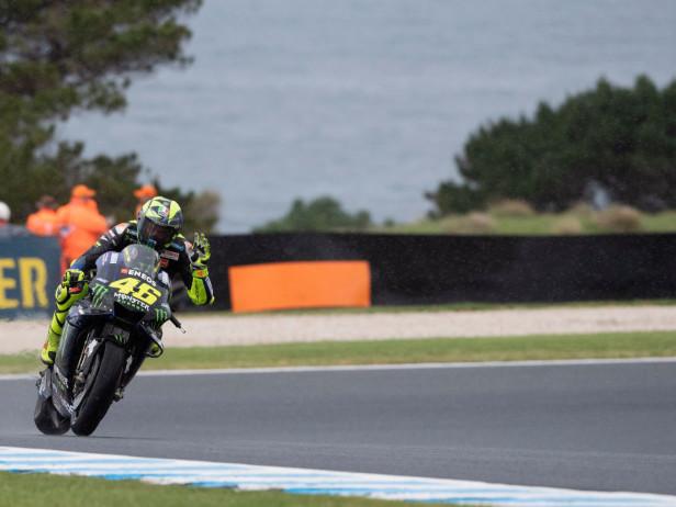 """MotoGP, GP Australia. Rossi 7°: """"Tutto positivo. Bene anche il consumo gomme"""". VIDEO"""