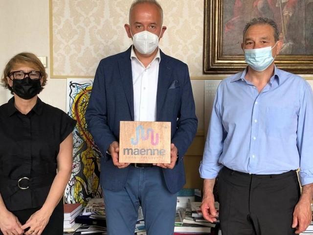 Civitanova, presentata al sindaco Ciarapica la nuova start up innovativa Maenne Srl