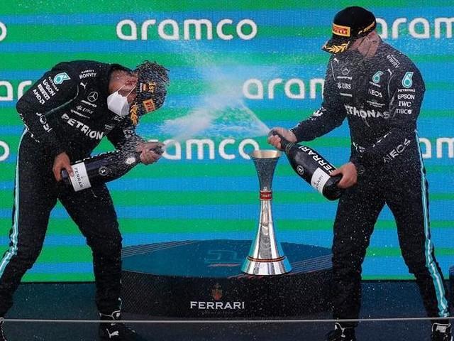 F1, Gp di Spagna: Hamilton record, 5 vittorie di fila in Spagna. Leclerc 4°