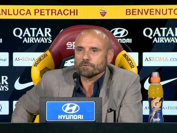 """Roma, Petrachi si difende: """"La mia frase su Dzeko? Solo un lapsus"""""""
