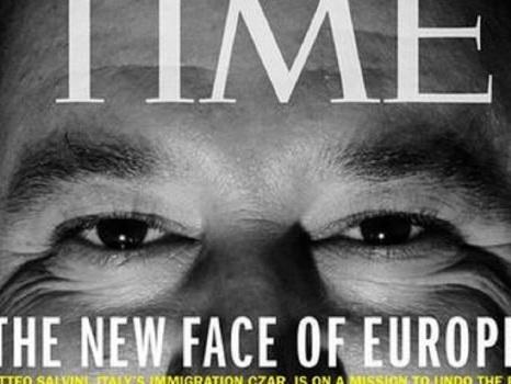 """Il Time dedica la copertina a Salvini: """"È il nuovo volto dell'Europa"""""""