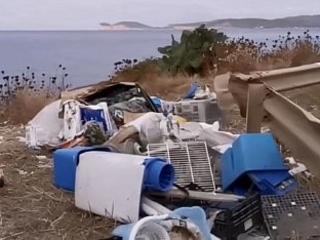 Alghero: la discarica che guarda Capo Caccia