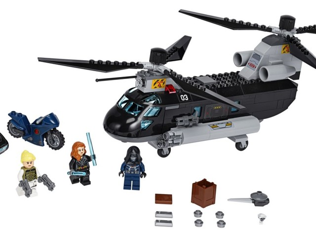 Svelato il set LEGO Marvel Super Heroes dedicato al film Black Widow