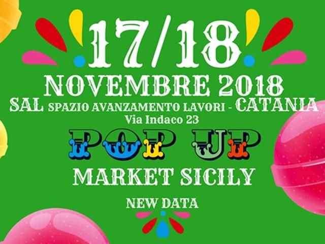 Il Pop Up Market Sicily si mette al riparo dal maltempo: 17 e 18 novembre al SaL