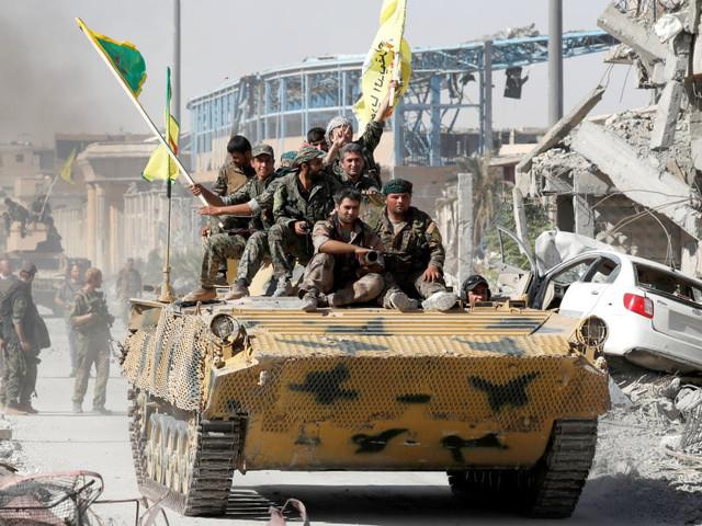La liberazione di Raqqa accelera la spartizione della Siria
