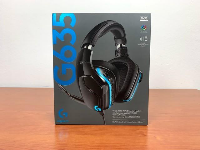 Logitech G635 LightSync 7.1 wired Headset – Recensione