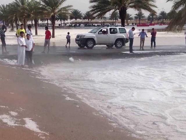 METEO - Violenti TEMPORALI e tempeste di GRANDINE colpiscono il Maghreb (VIDEO)