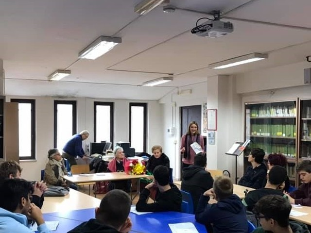6°edizione di Libriamoci. Giornate di lettura nelle scuole - IIS Federico Caffè - Centenario della nascita di Gianni Rodari