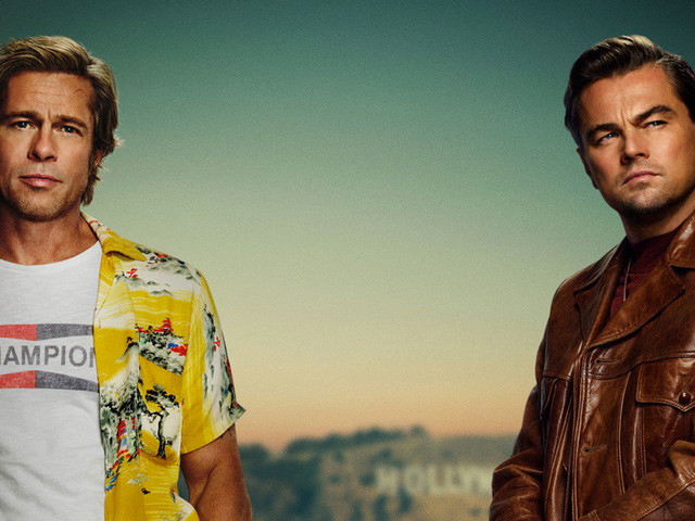 Once Upon a Time in Hollywood, il poster ufficiale con Brad Pitt e Leonardo DiCaprio
