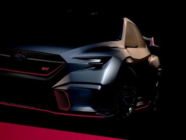 Subaru Viziv Performance STI Concept in bella mostra al Tokyo Auto Salon