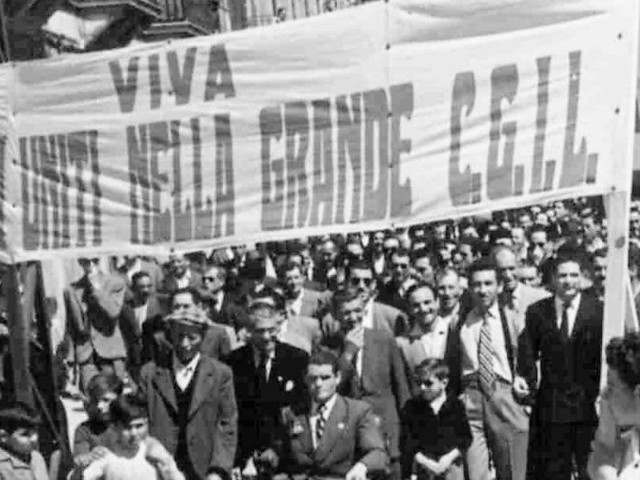 1945-2019: nei congressi Cgil c'è la storia dell'Italia
