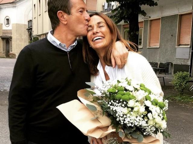 """Cristina Parodi e Giorgio Gori festeggiano 25 anni di matrimonio: """"Un'altra volta sì"""""""
