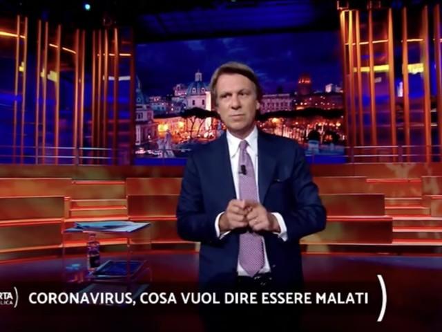 """Nicola Porro torna in onda dopo il coronavirus: """"Mi sono sentito fortunato"""""""