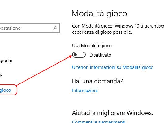 """Windows 10 Creators Update e """"Modalità gioco"""" possono rompere alcuni giochi (esempio: Lego City Undercover), come rimediare"""